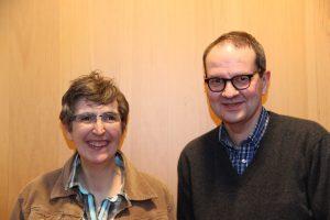 Ulrike Amler verstärkt als zweite Vorsitzende den Vorstand. Donat Singler führt die Kasse weiter. Foto: Widmaier